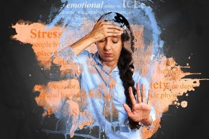 Stress and Anxiety. Image by Pete Linforth from Pixabay