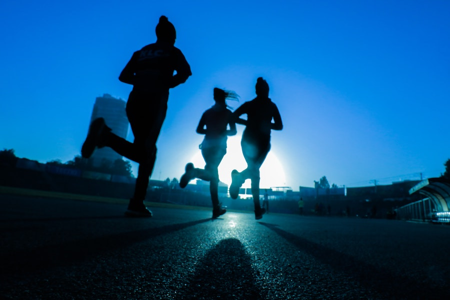 Physical activity, running. Photo by Fitsum Admasu on Unsplash