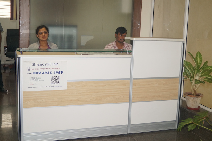 shivajyoti clinic reception