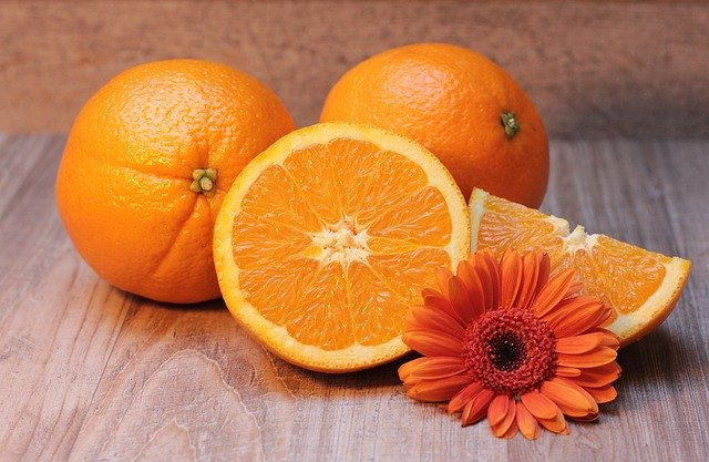 Orange for Vitamin C. Image by S. Hermann & F. Richter from Pixabay